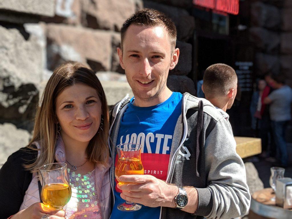 Yuliya & Jason from Ukraine Guide