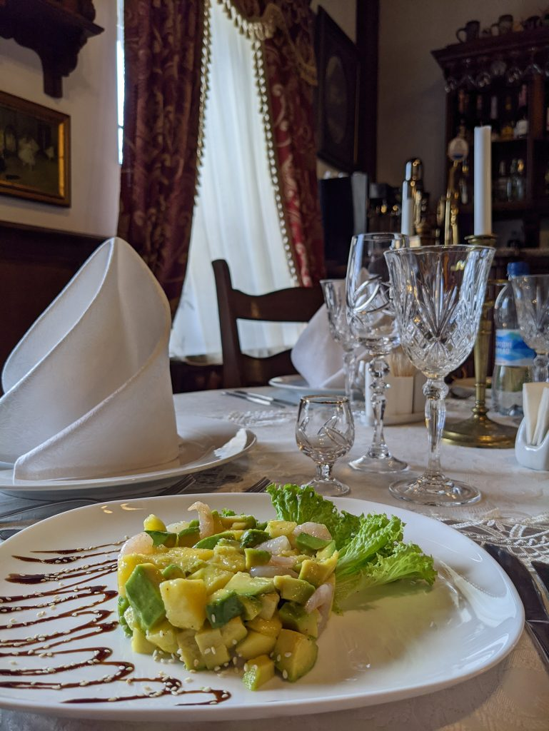 Salad in Antique House, Dubno