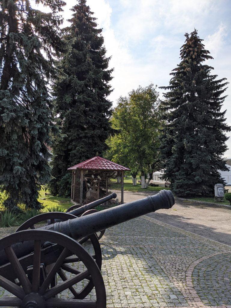 Dubno Castle Cannons