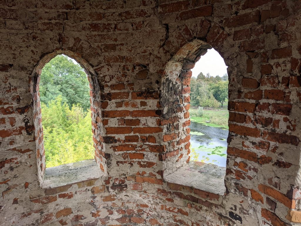 Dubno Castle Windows