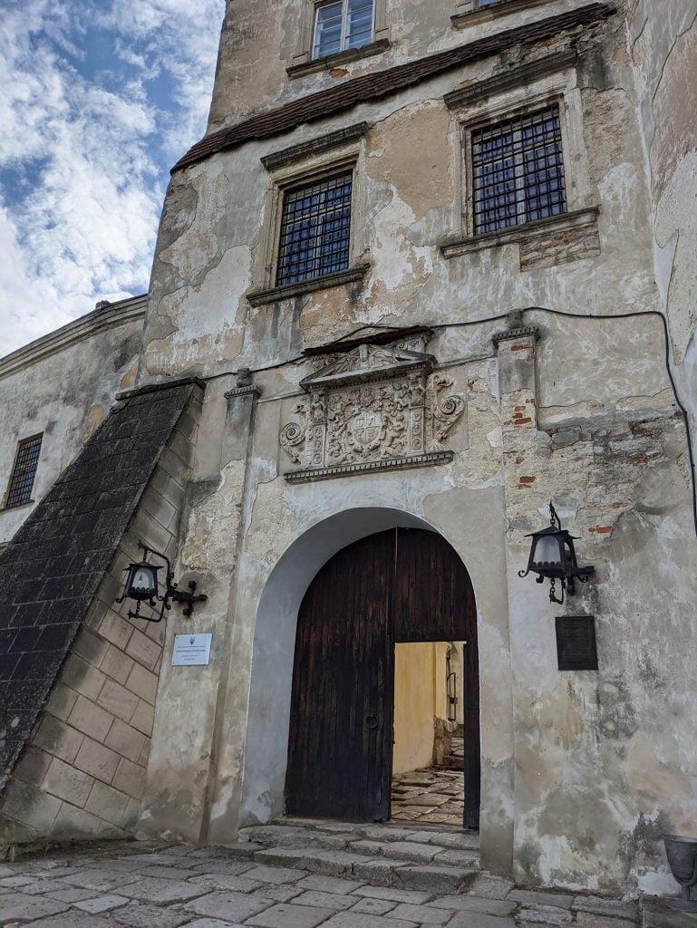 Olekso Castle Entrance