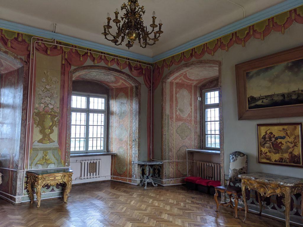 Olekso Castle Inside